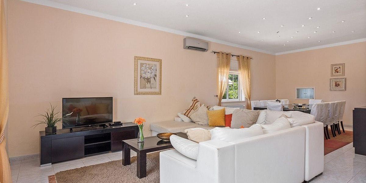 Living Room Large Villa Algarve