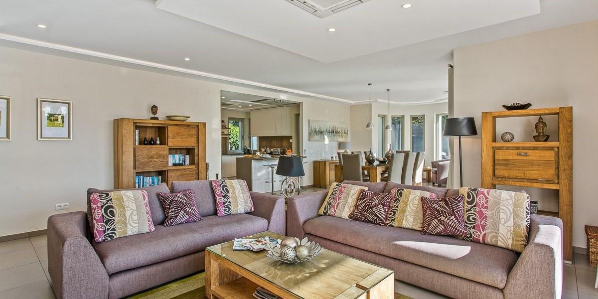 Comfortable Living Room Holiday Villa Algarve