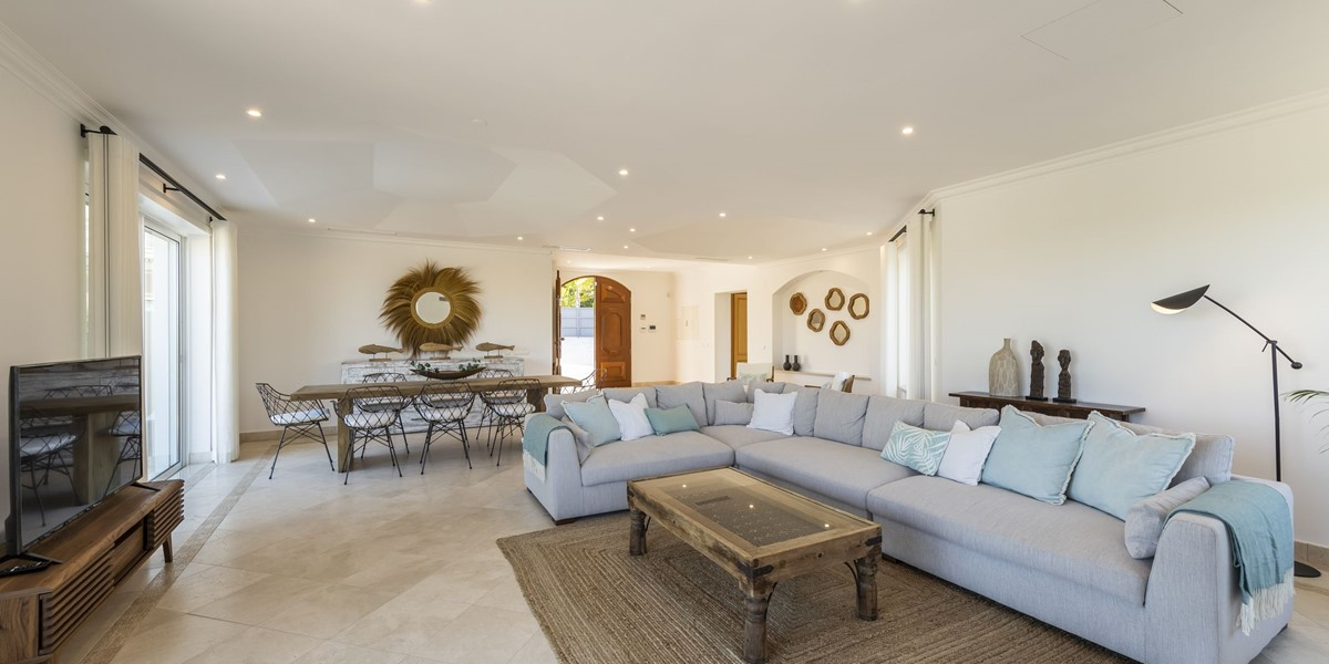 Comfortable Seating In Luxury Holiday Villa