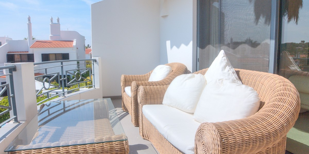 Comfortable Seating On The First Floor Terrace