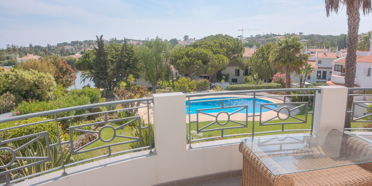 First Floor Terrace With Pool And Garden View