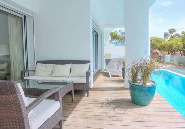 Private Terrace And Swimming Pool