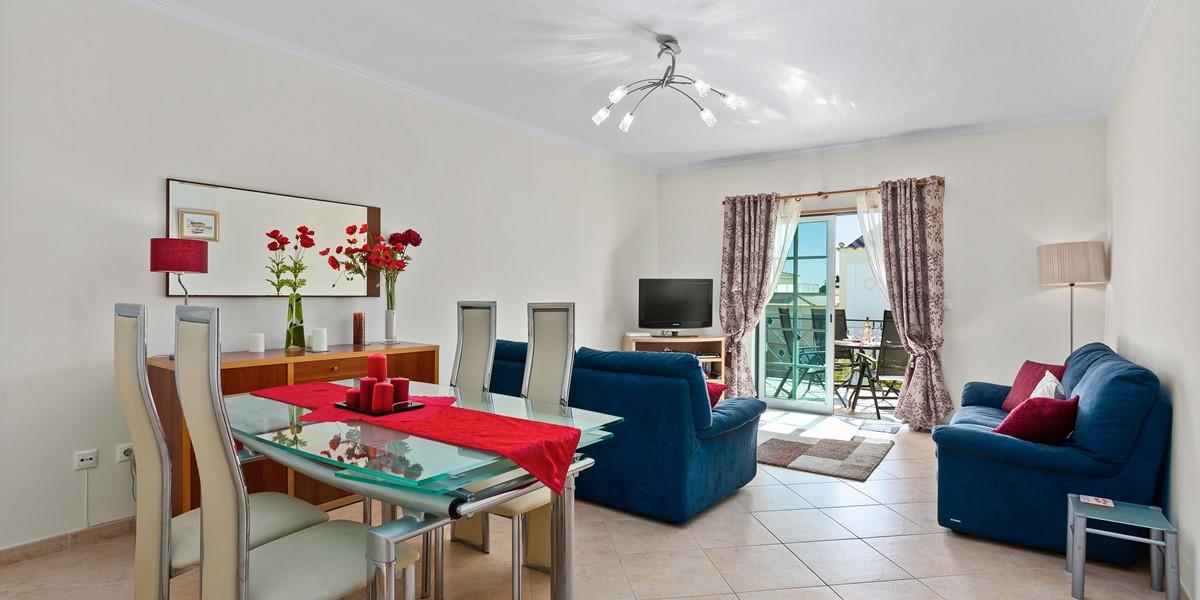 Living Room And Dining Area Santa Eulalia