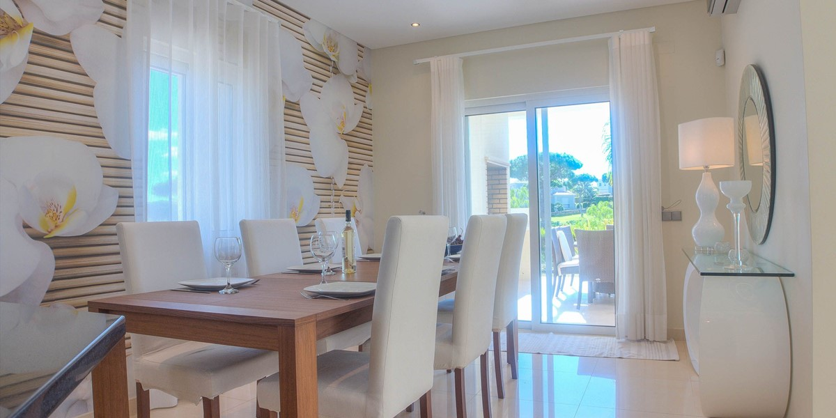 Dining Area With Access To Terrace And BBQ Area