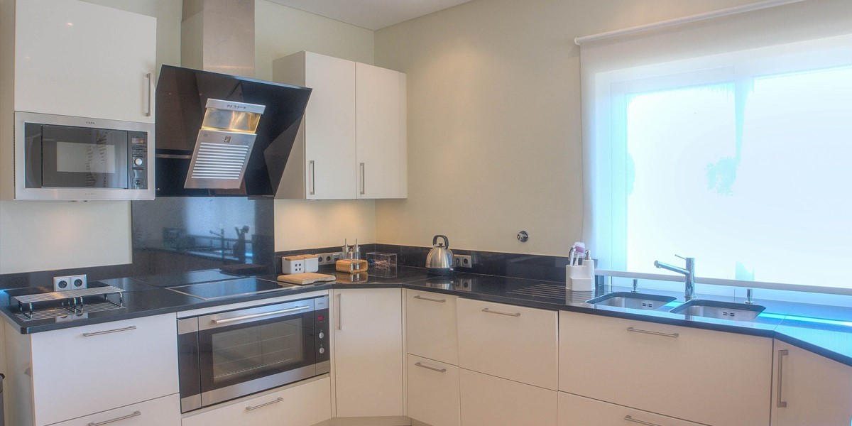 Fully Equipped Kitchen For Self Catering Villa Holiday In Algarve