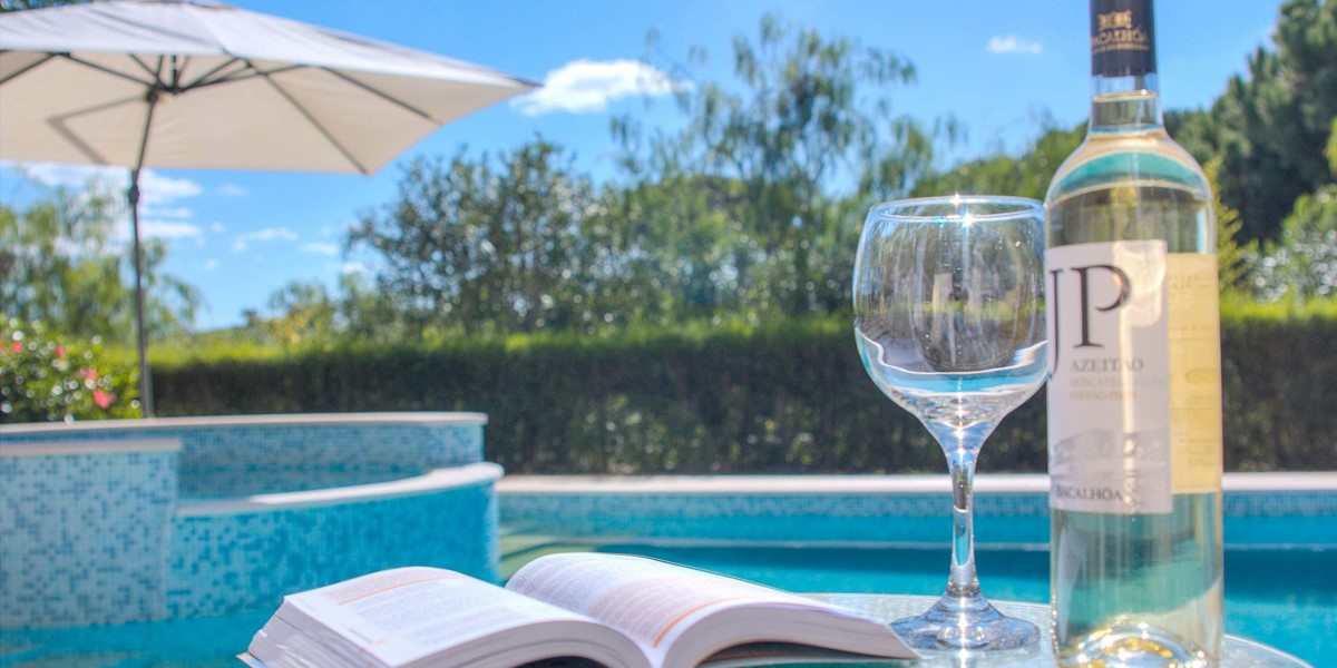 Relaxing Around A Private Pool On Your Algarve Holiday