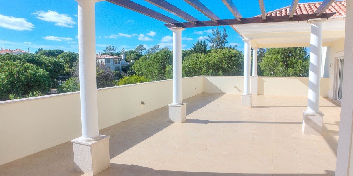 Spacious Terrace With Golf Course Views