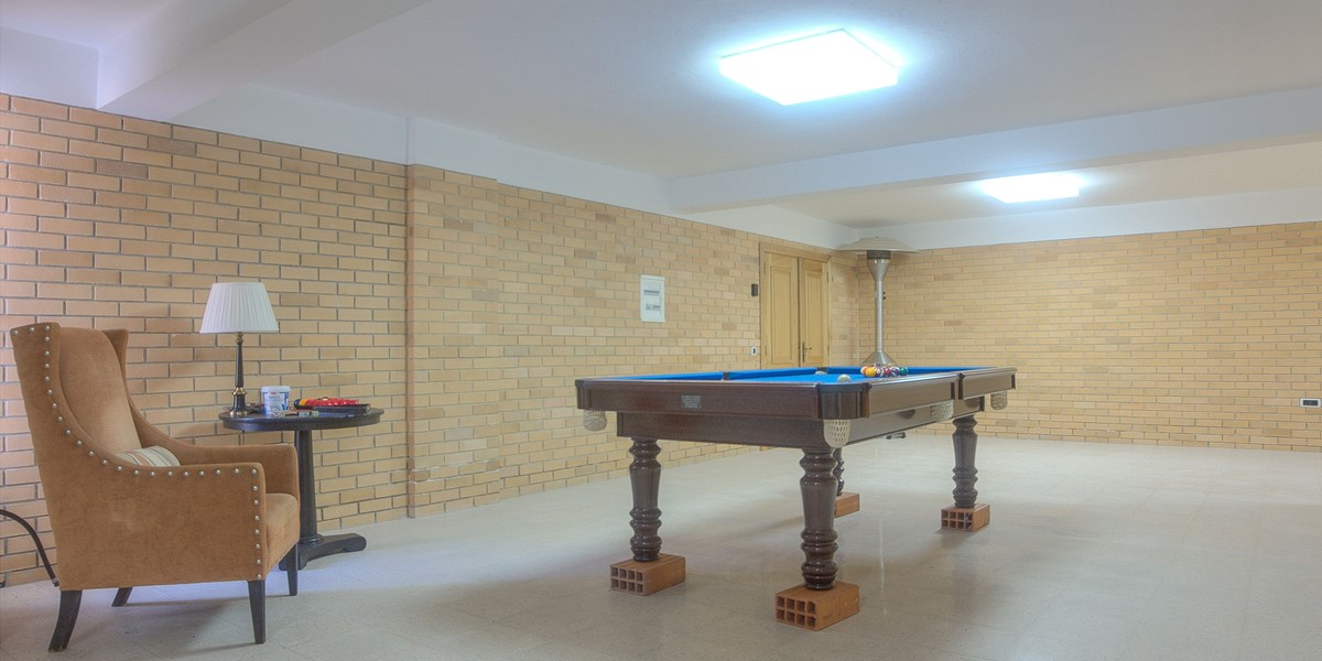 Lower Ground Floor Level With Pool Table