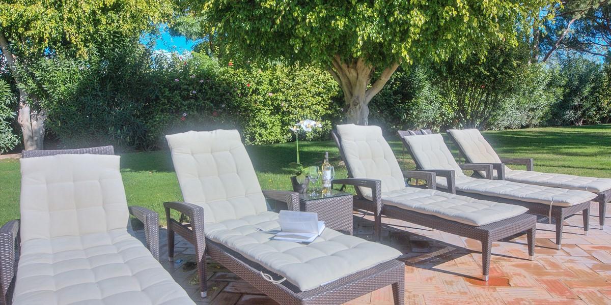 Sun Loungers To Enjoy The Algarve Sunshine