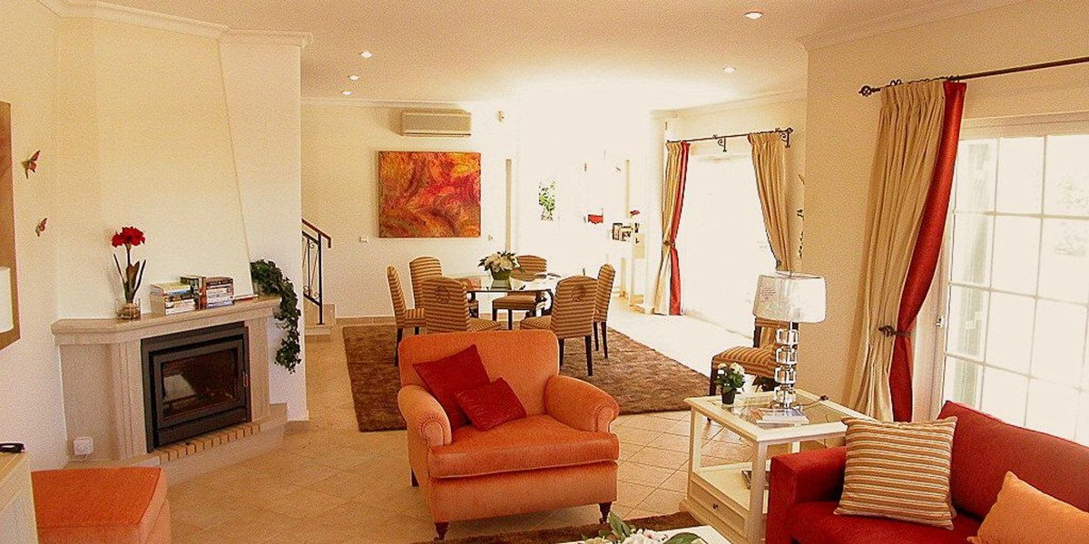 Spacious Living Room In Holiday Apartment Vale Do Lobo