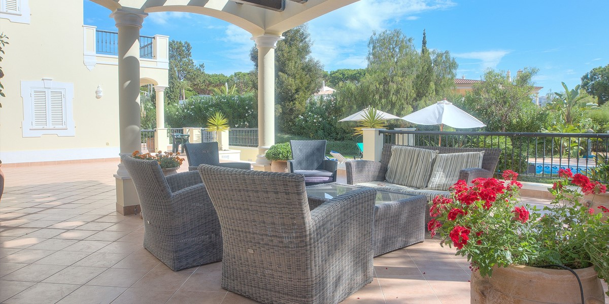 Comfortable Exterior Seating
