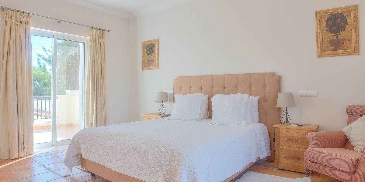 Master Bedroom With Access To Terrace