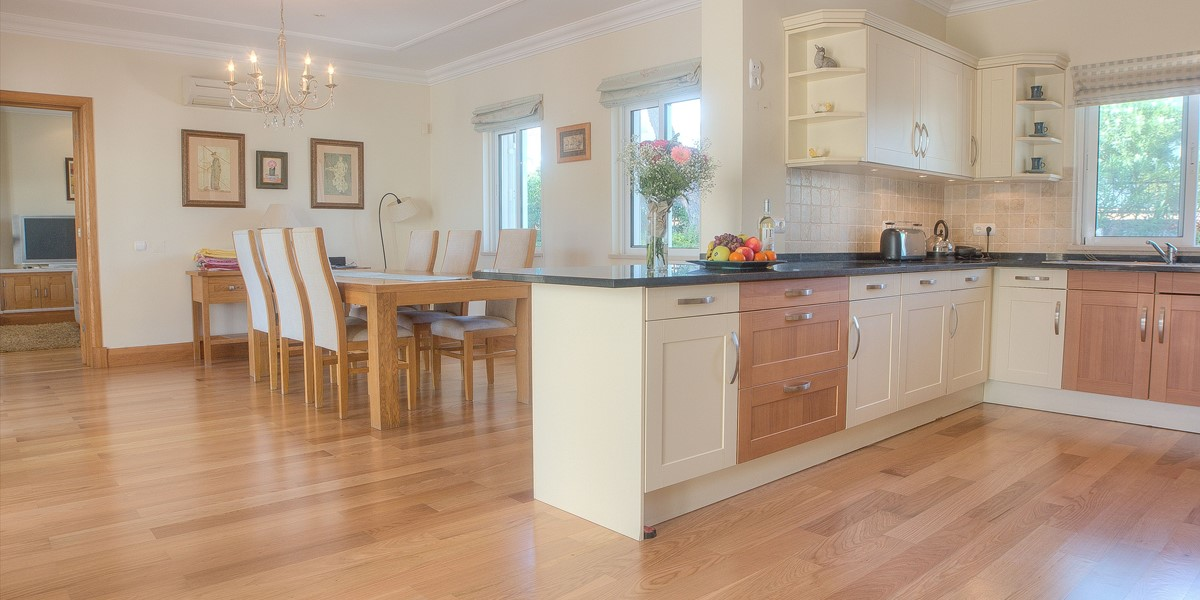 Spacious Kitchen Diner In Holiday Villa