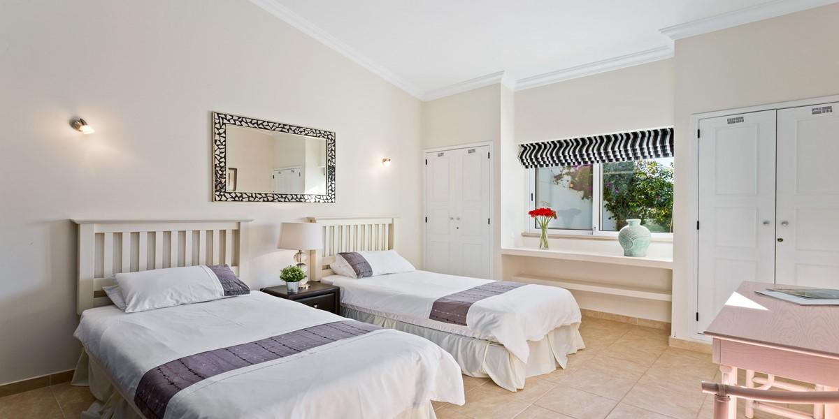 Modern Twin Bedroom Algarve