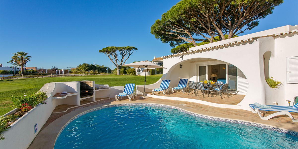 Villa With Golf Course View