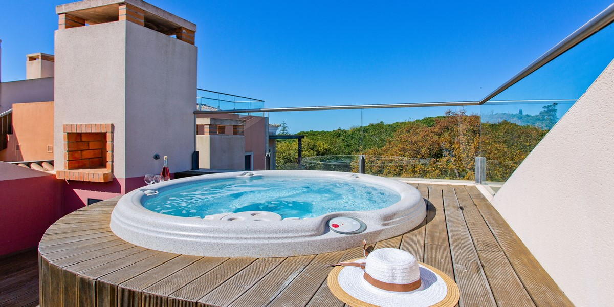 Jacuzzi Holiday Rental Apartment Vale Do Lobo