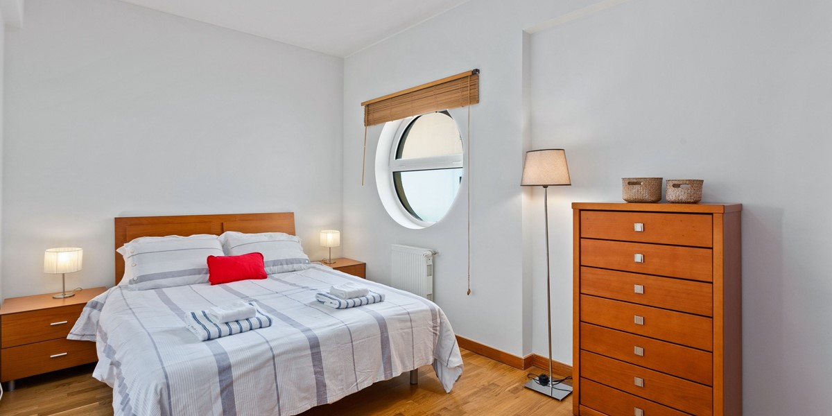King Size Bedroom Albufeira Rental Apartment