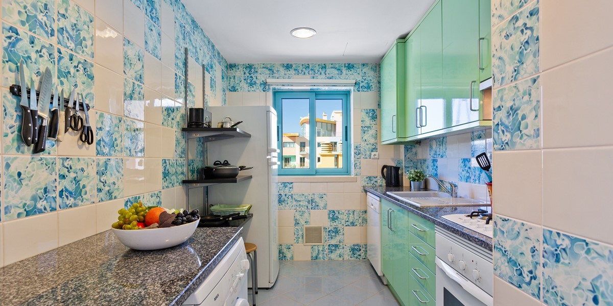 Modern Kitchen Albufeira Rental Apartment