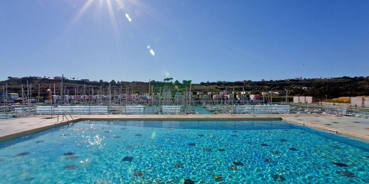 Swimming Pool View Albufeira Marina