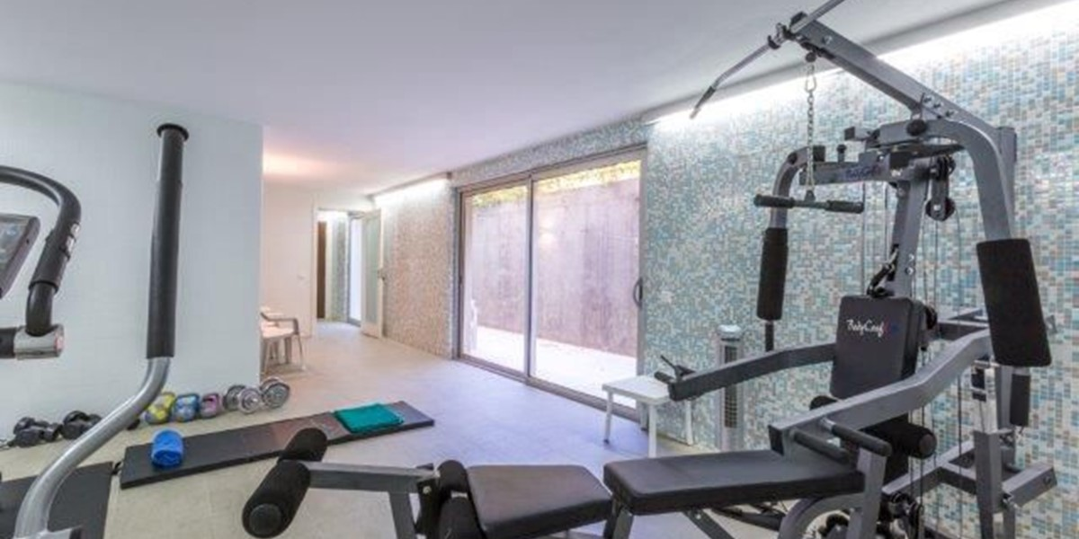 Fully Equipped Gym In Vacation Property Portugal
