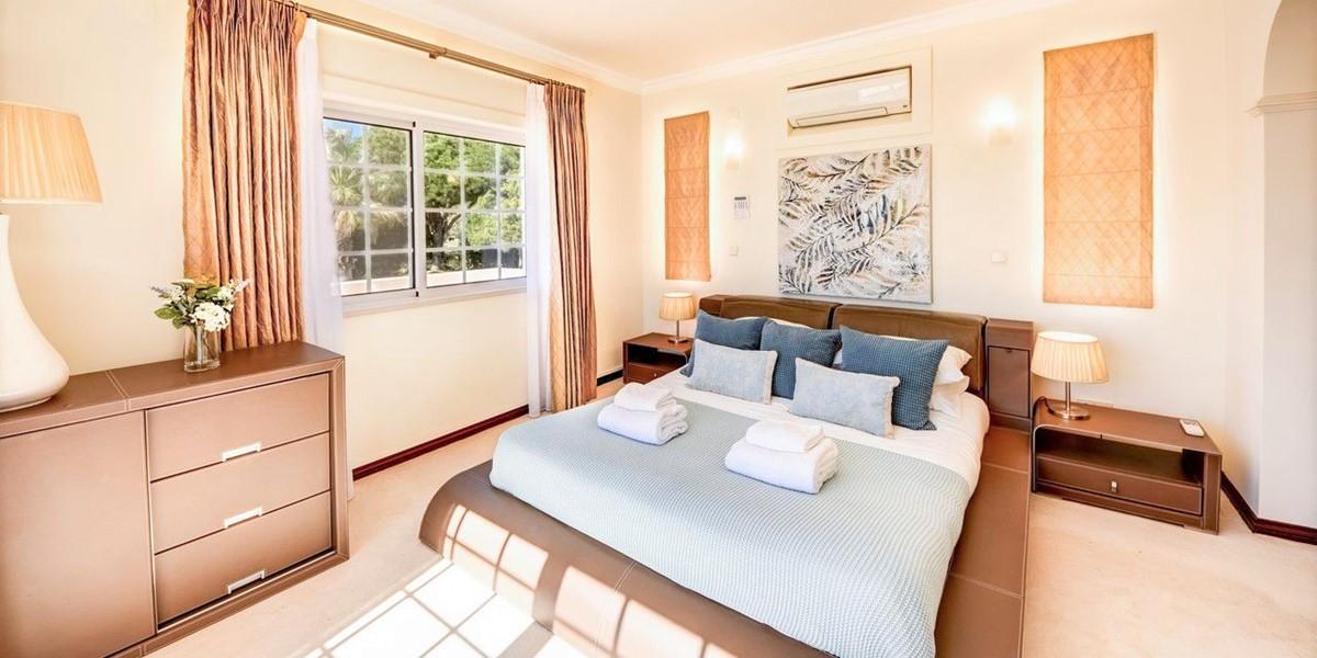 Comfortable Bedroom In Luxury Holiday Villa