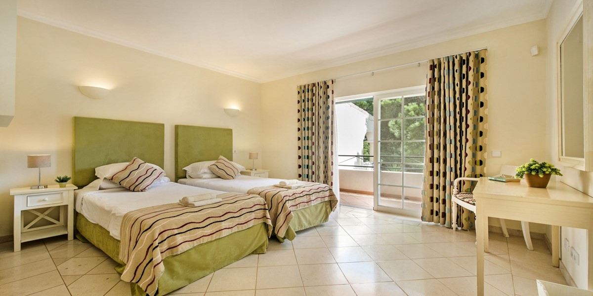 Twin Bedroom Holiday Rental Villa Vale Do Lobo