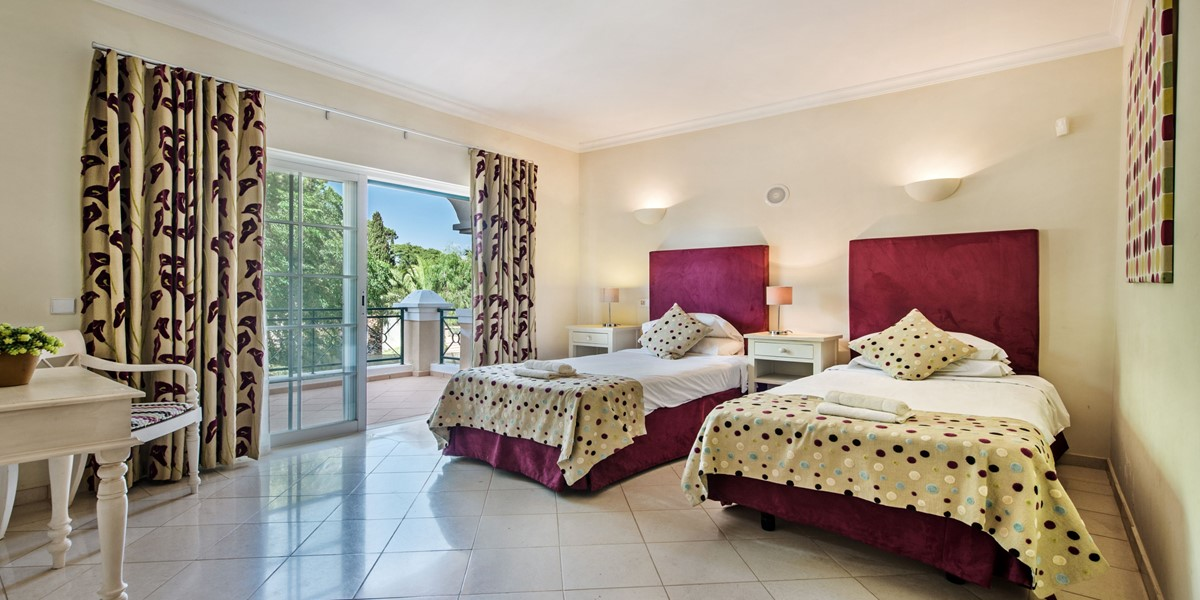Twin Bedroom Vacation Rental Villa Vale Do Lobo