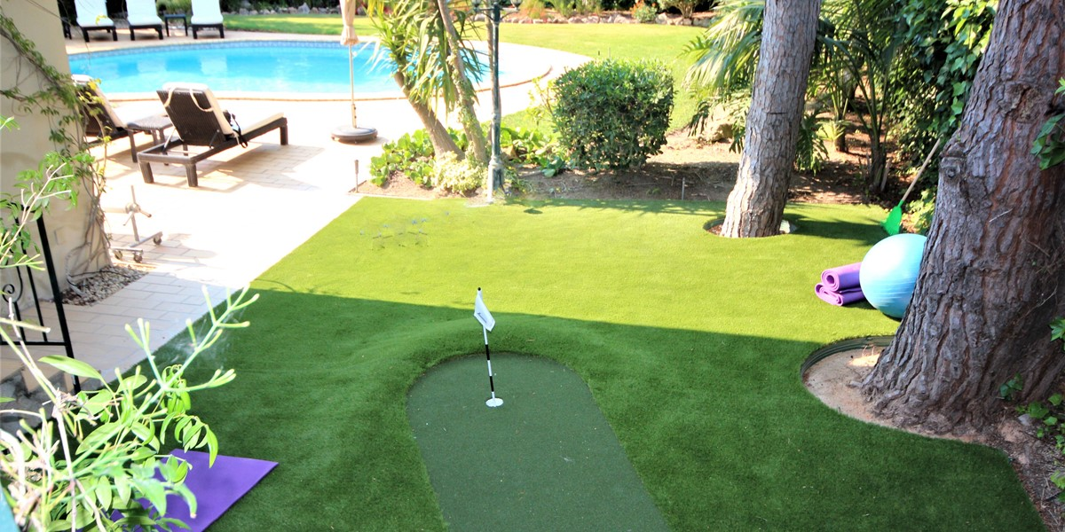 Putting Green For Use On Your Algarve Holiday Villa