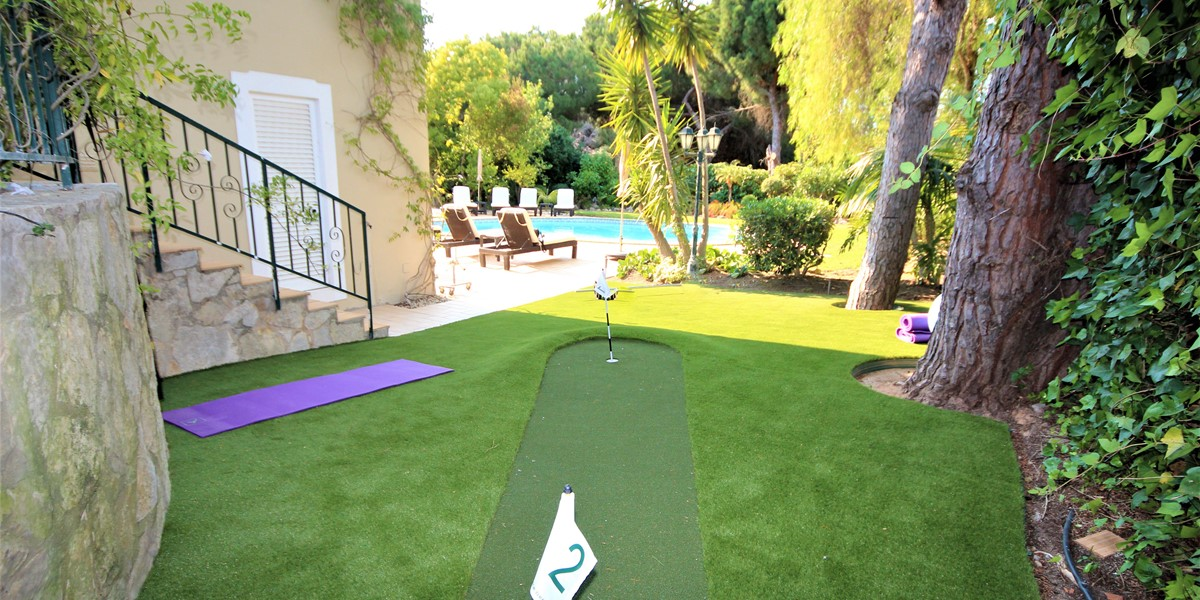 Putting Green In Vale Do Lobo Holiday Villa