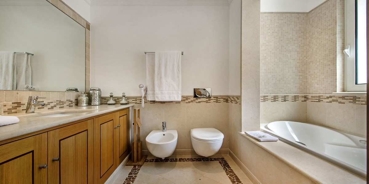 Bathroom Holiday Rental Villa Quinta Do Lago