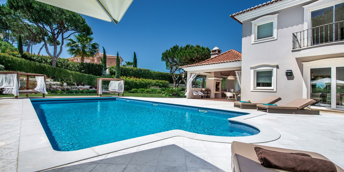 Lrage Private Swimming Pool Villa Rental Quinta Do Lago