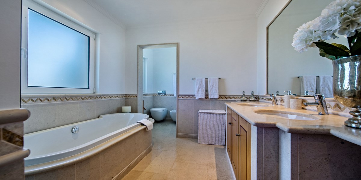 Luxury Bathroom Holiday Rental Villa Quinta Do Lago
