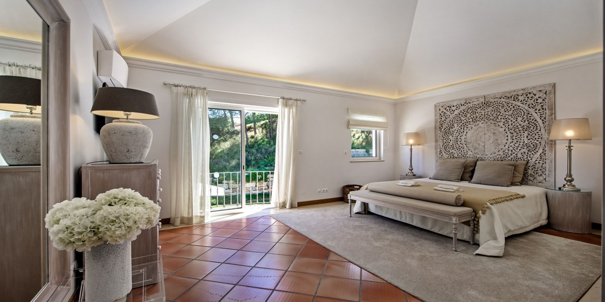 Luxury King Size Bedroom Vacation Rental Villa Quinta Do Lago