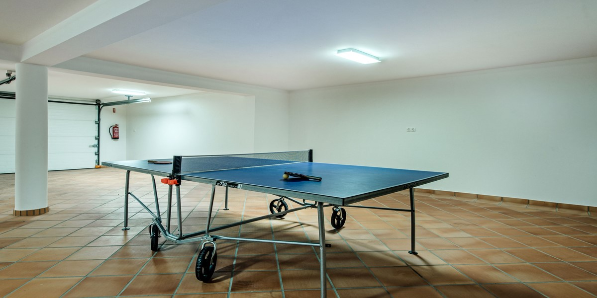Ping Pong Table Vacation Rental Villa Quinta Do Lago