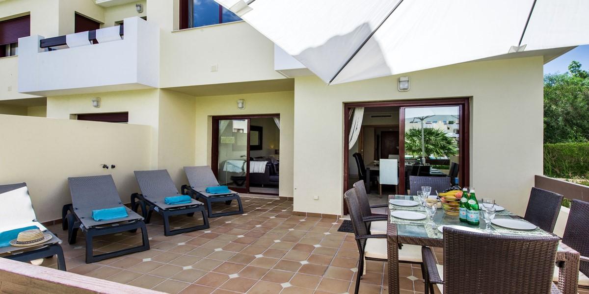 Spacious Terrace Area Villa Sol
