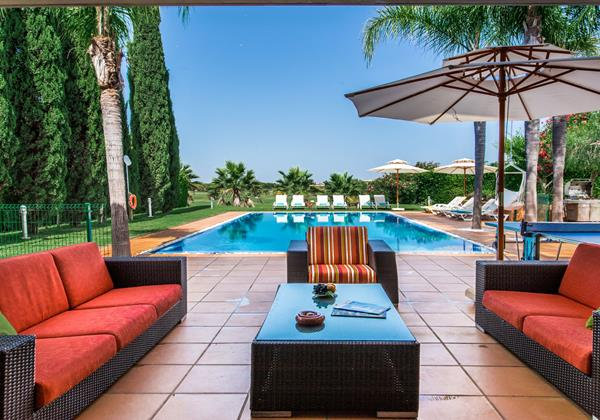 Comfortable Poolside Sofas Millennium Golf Course Vilamoura