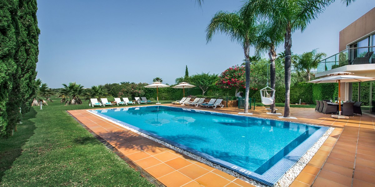 Large Private Swimming Pool Millennium Golf Course Vilamoura