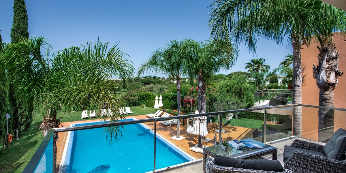 Pool View Holiday Villa Millennium Golf Course Vilamoura