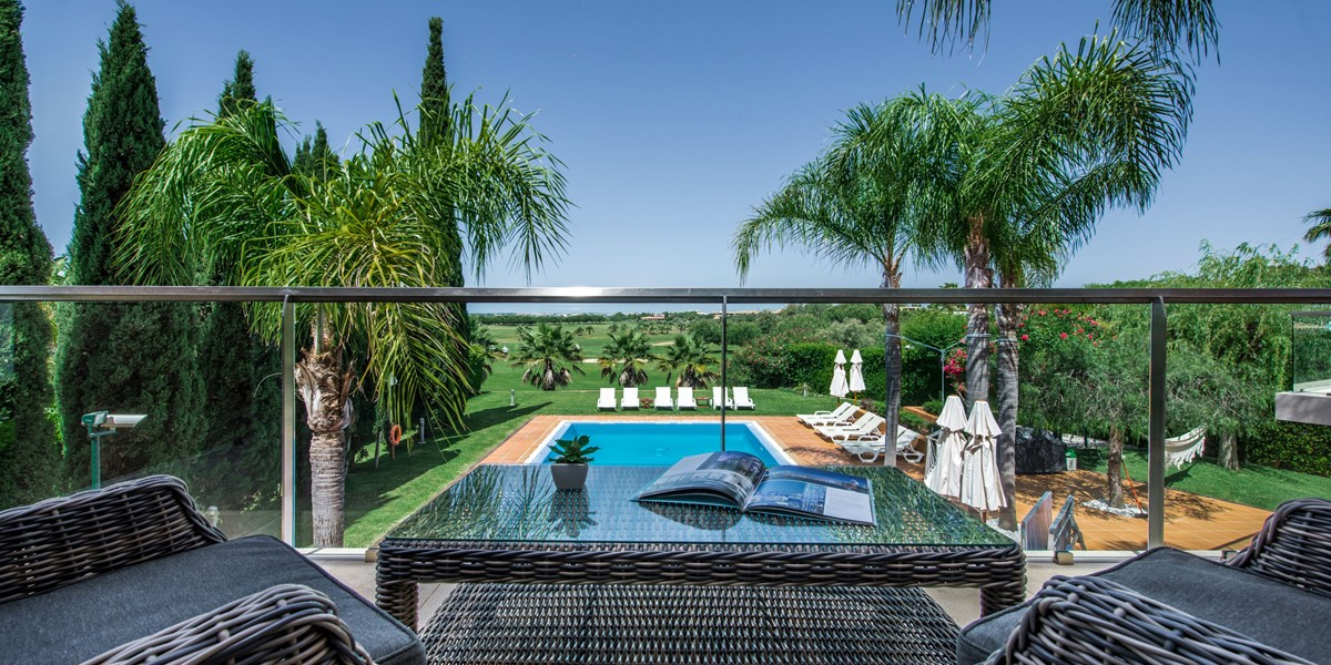Pool View Rental Villa Vilamoura