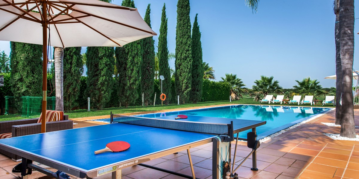 Table Tennis Holiday Villa Vilamoura