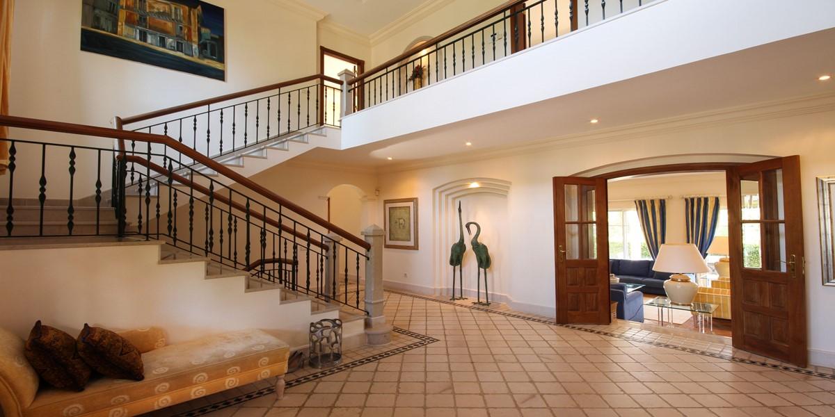 6 Bedroom Rental Villa Entrance Quinta Do Lago