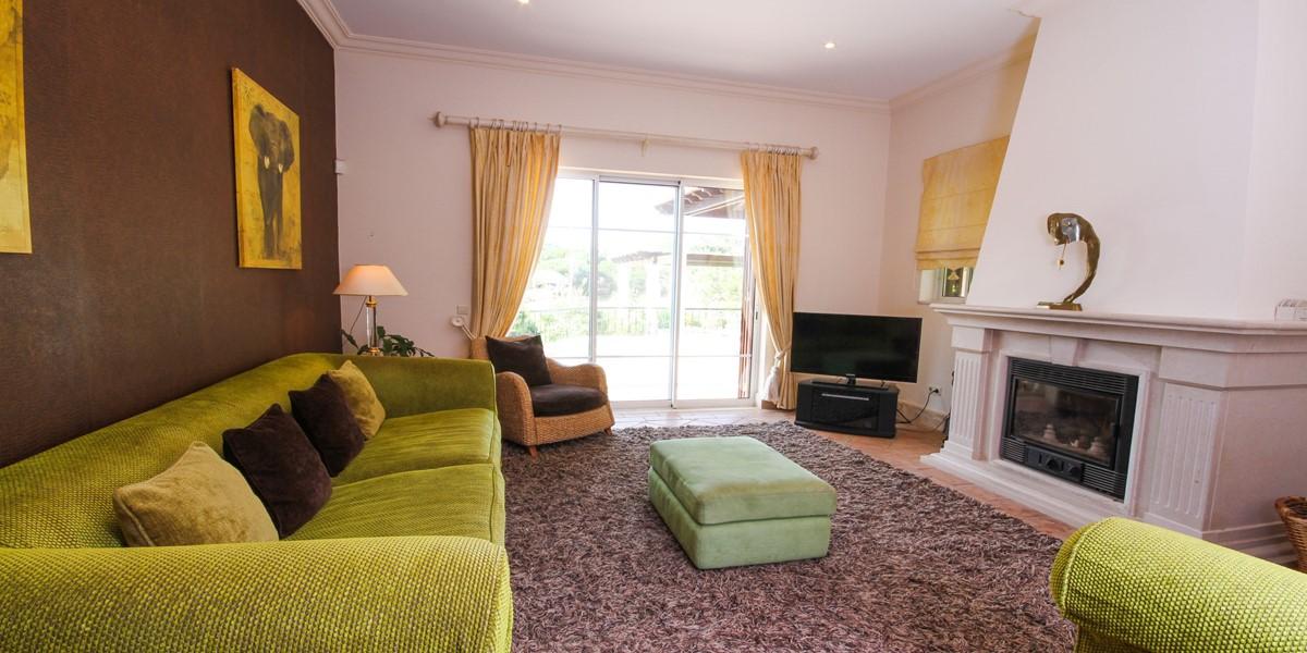 Comfortbale Living Room Holiday Villa Rental Quinta Do Lago