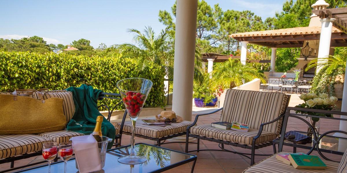 Dining Table Vacation Villa Rental Quinta Do Lago
