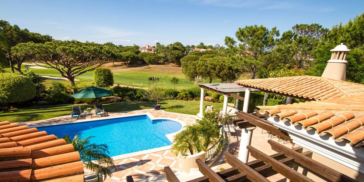 Golf Course View Rental Villa Quinta Do Lago