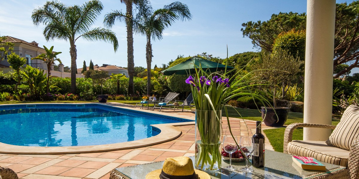 Large Pool Holiday Rental Villa Quinta Do Lago