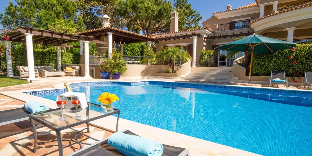 Large Swimming Pool Holiday Rental Villa Quinta Do Lago