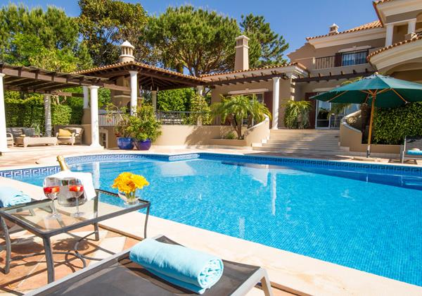 Large Swimming Pool Holiday Rental Villa Quinta Do Lago