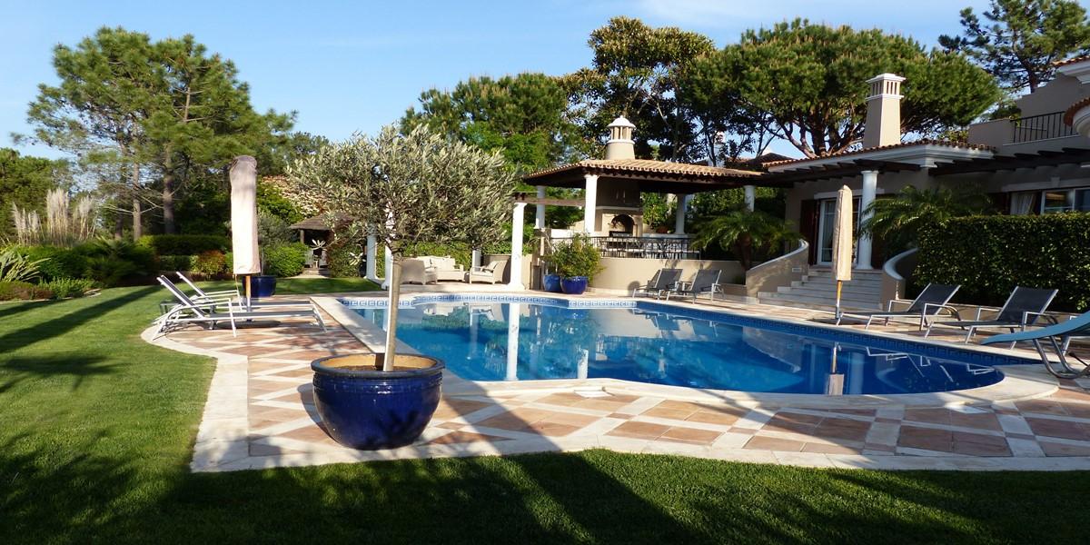 Large Swimming Pool Vacation Villa Rental Quinta Do Lago