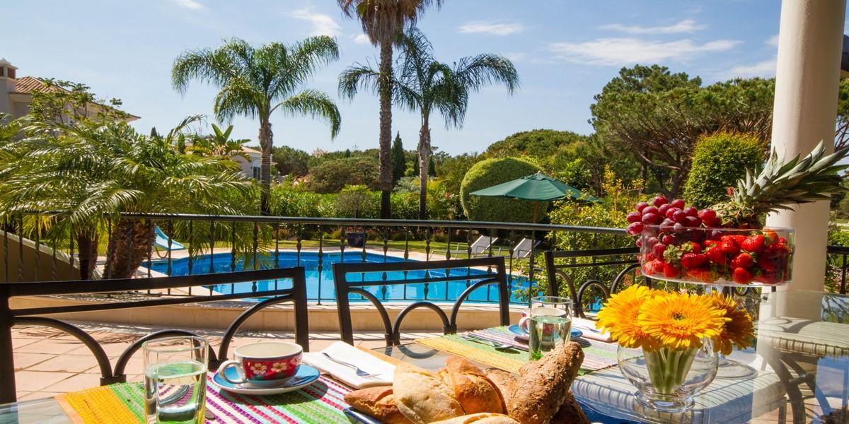 Swimming Pool View Large Holiday Rental Villa Quinta Do Lago