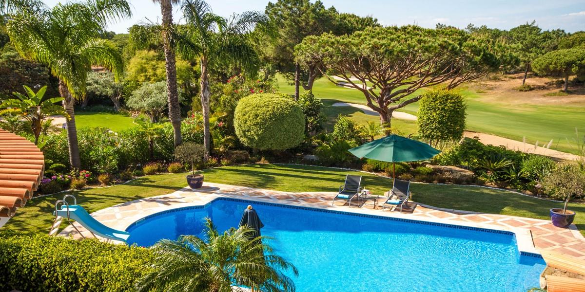 Terrace Golf Course View Holiday Rental Villa Quinta Do Lago